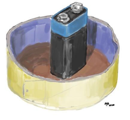 Battery & Tape